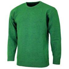 Jersey de hombre verdes, 100% lana