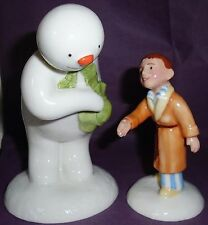 """Royal Doulton """"THE SNOWMAN AND JAMES"""" LTD EDITION BOXED!"""