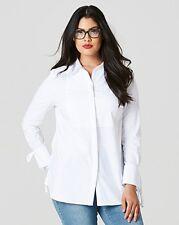 Capsule Tie Sleeve Shirt White Size 14 rrp £32.00   SA170 BB 03