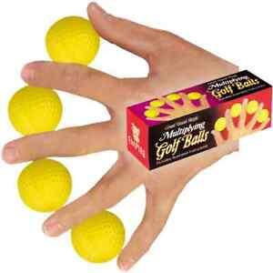 Brand New Magic Trick - Multiplying Golf Balls
