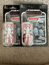 star wars vintage collection imperial Stormtrooper Vc140 Rogue One 2 Figure Lot