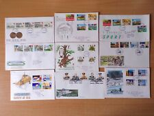 COLLECTION OF 9 BRITISH GB FIRST DAY COVERS FDCs - 1984 1985 1986 1987 - LOT K