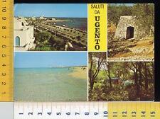 26720] LECCE - SALUTI DA UGENTO - VEDUTE _ 1985