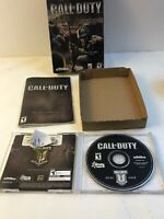 Call of Duty Game Of The Year PC CD 2003 + Key Code Manual 2 Disc Complete Cib
