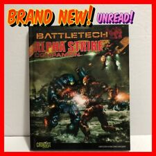 BATTLETECH ALPHA STRIKE COMPANION (2014 Catalyst Game Labs HARDCOVER) NEW UNREAD