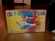 F-18 HORNET, FIGHTER PLANE, [ SNAP TOGETHER ] Plastic Model Kit, VINTAGE