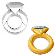 Ausstecher Ausstechform Ring Diamant-Ring 7 cm E4