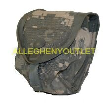 MOLLE Single Hand Grenade Utility Pouch - ACU - US Military EXC