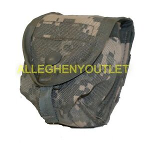 MOLLE Single Hand Grenade Utility Pouch - ACU - US Military EXCELLENT