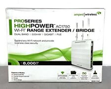 Amped Wireless AC1750 High Power WiFi Range Extender Dual Band 500mW