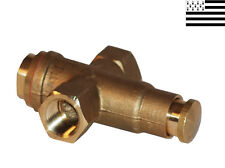 "TAP BRASS PUSH BUTTON 3/8"" GUIDI"