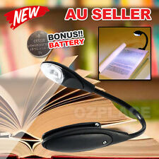 Portable Travel Mini Flexible Laptop LED Clamp Clip On Reading Book Light Lamp