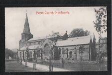 L@@K  Parish Church Kenilworth 1930's? Postcard ~ GOOD QUALITY CARD