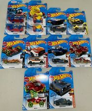 12 Count Mixed Models Cool 2019 / 2020 Hot Wheels, New, Ships Quickly!