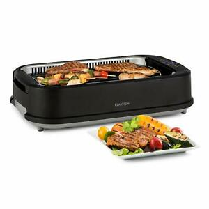 Klarstein Köfte BBQ Electric - 1500 W, Control Touch, Burner Steel