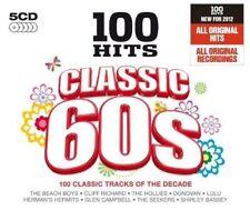 100 HITS CLASSIC 60'S 5-CD ALBUM SET