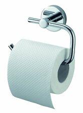 Kosmos Stainless Steel Chrome Toilet Roll Holder - Silver