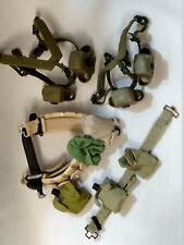 military equipment for (1/6) scale action figure - lot of 17 items - assortment
