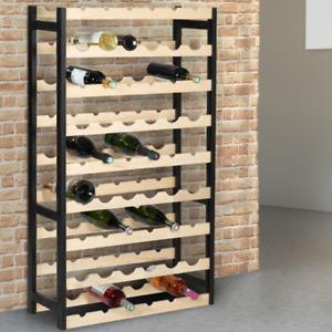 Etagère à vin 54 bouteilles bois