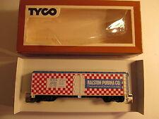 Tyco HO Scale Ralston Purina Box Car
