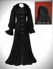 PYRAMID COLLECTION PLUS SIZE HOODED VELVET COAT MEDIEVAL GOTHIC RENN ! 2X