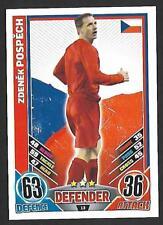#13 TOPPS - MATCH ATTAX CARD GAME  -ENGLAND 2012- ZDENEK POSPECH -CZECH REPUBLIC