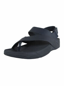 Fitflop Mens Sling Perf Slingback Leather Sandal Shoes
