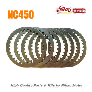 88 NC450 Parts Sprocket Clutch friction disc plate (7pcs) ZONGSHEN Engine NC