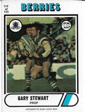 Canterbury Bulldogs 1976 Season NRL & Rugby League Trading Cards