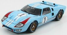 1/18 SHELBY-COLLECTIBLES - FORD USA - GT40 MKII 7.0L V8 TEAM SHELBY411BLUEBOX