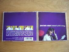 JEAN LOUIS AUBERT CONCERT Privé 1 CD