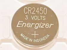 1 NEW BULK ENERGIZER CR2450 ECR 2450 3v LITHIUM BATTERY (ONE BATTERY) BULK