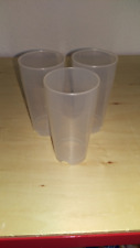 10 Recipiente reutilizable Vaso PP Taza 200ml Transparente Irrompible
