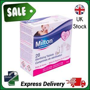 Milton Sterilising Tablets 28 tabs 112g