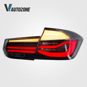 for 12-15 BMW 3 series 4 Door sedan Tail Lights 320i 325i 328d 328i 335i Clear