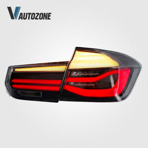 for 12-15 BMW 3 series 4 Door sedan Tail Lights 320i 325i 328d 328i 335i Clear