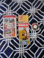 Grand Theft Auto: Vice City Stories (Sony Psp, 2006) w/ Manual