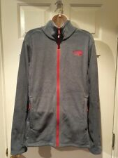 Mens The North Face Fleece Jacket Size Small Full Zip Jacket Gray