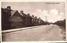 Heston near Hounslow. Cranford Lane.