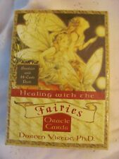 New Listing2001 Doreen Virtue Healing With The Fairies Oracle Cards with Guide Book & Box