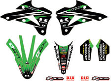 D COR 2014 MONSTER ENERGY KAWASAKI TEAM GREEN GRAPHICS/TRIM KIT PART# 10-20-514