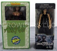 "6"" Matrix Trinity & 6.25"" Alley Bagget is Alley Cat Action Figures Wizard Group"