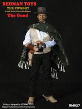 "1/6 REDMAN TOYS The Good COWBOY Joe 12"" Male Figure A Fistful Of Dollars RM027"