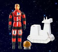 Vintage 1966 Major Matt Mason Sgt Storm Black Strap Astronaut Action Figure Rare