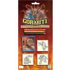 GORMITI - Timbri in legno + 3 matite GIOCHI PREZIOSI Giocattolo bambino Regalo