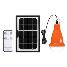 Solar LED Bulb Lamp Remote Control Outdoor Garden Camping Emergency Energy Light