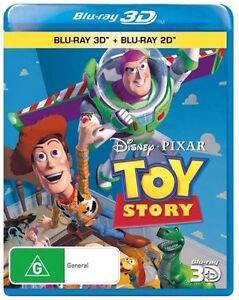 TOY STORY 1 : 3D / 2D Blu-Ray : NEW