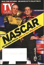 July 5-11, 2003 TV GUIDE NASCAR magazine Matt Kenseth Kurt Busch