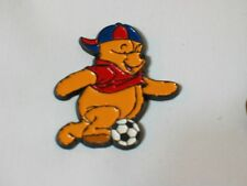 Winnie the Pooh Pin, Pooh Playing Soccer Disney Lapel Pin