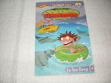Kids new paperback gr 2-3:The Wild Thornberrys In Too Deep-shark adventure!